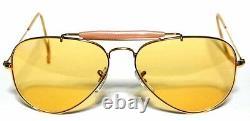Ray Ban 3030 58 Outdoorsman Gold Oro Yellow Ambermatic Personalizzato Remix