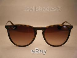 Ray Ban 4171 Erika Matte Tortoise w Brown Gradient Lens (RB4171 865/13)