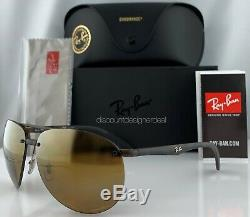 Ray-Ban RB4293CH Aviator Sunglasses 894/A3 Matte Havana Gold Mirror POLARIZED