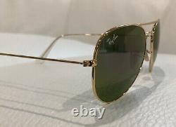 Ray-Ban Unisex Mirror Pilot Aviator VIOLET Sunglasses USA