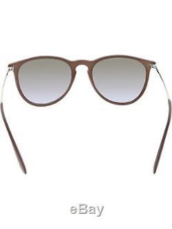 Ray-Ban Women's Erika RB4171-600068-54 Grey Round Sunglasses