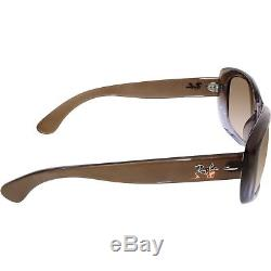 Ray-Ban Women's Jackie Ohh RB4101-860/51-58 Brown Square Sunglasses
