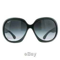 Ray Ban Women's Jackie Ohh Sunglasses Black/Gray (RB4098-601-8G-60)