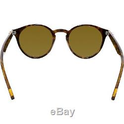 Ray-Ban Women's RB2180-710/73-49 Brown Round Sunglasses