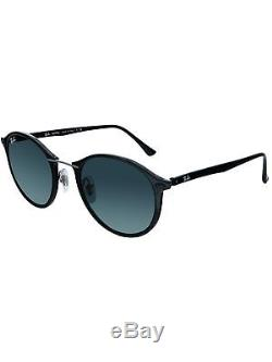 Ray-Ban Women's RB4242 RB4242-601/71-49 Black Round Sunglasses