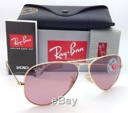 Ray-ban Women's Polarized Pink Legend Aviator Sunglasses Rb3025 001/15 58-14