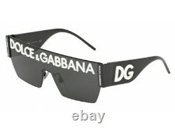Sunglasses Dolce & Gabbana DG2233 01/87 black grey Authentic