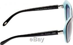 TIFFANY & CO. Sunglasses TF 4122 8055/9S Black Blue / Gradient Blue 56 mm 80559S