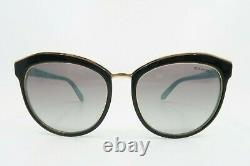 Tiffany & Co. Black & Rose Gold Women's Sunglasses with Box TF 4146 8055/3C 56mm