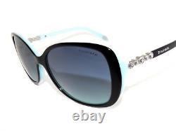 Tiffany & Co TF4121B 4121 8055/9S Black Blue Gradient Sunglasses