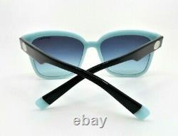 Tiffany & Co. TF4162 8055/9S Black & Blue Gradient New Sunglasses with Box 56mm