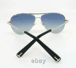 Tiffany & Co. Women's Aviator Silver Sunglasses New withBox TF 3062 6001/4L 57mm