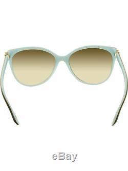 Tiffany & Co Women's Gradient TF4089B-81343B-58 Black Aviator Sunglasses