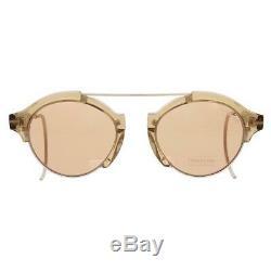 Tom Ford Farrah 02 Brown Signature Fashion Oval Sunglasses O/S 21, 160 BHFO 3533