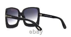 Tom Ford KATRINE-02 FT 0617 Black/Grey Shaded (01B) Sunglasses