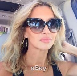 0a895ad1615 Tom Ford Tf 371 Anoushka 20b Grey Peach Smoke Brown Women Sunglasses Cateye