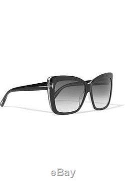 f719de71346 Tom Ford Tf 390 Irina 01b Black Gold Ft0390 Grey Smoke Women Sunglasses  Italy