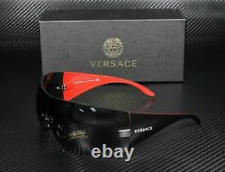 VERSACE VE2054 100187 Gunmetal Grey Lens Women Square Sunglasses 41mm