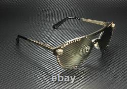 VERSACE VE2161B 12525A Pale Gold Lt Brown Mirr Dk Gold 42 mm Women's Sunglasses