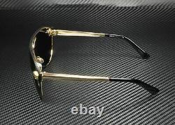 VERSACE VE2161 100287 Gold Gray 42 mm Women's Sunglasses