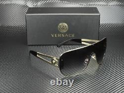 VERSACE VE2166 12528G Pale Gold Grey Gradient 41 mm Women's Sunglasses