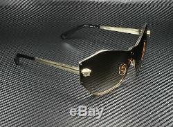 VERSACE VE2182 125213 Pale Gold Brown Gradient 43 mm Women's Sunglasses