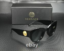 VERSACE VE4353 GB1 87 Black Grey 51 mm Women's Sunglasses