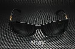 VERSACE VE4372 GB1 81 Black Polarized Grey 55 mm Women's Sunglasses