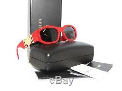 Versace 4361 533087 Red Gray Sunglasses Unisex