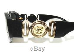 Versace 4361 GB1/87 Black Gold Sunglasses