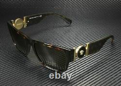 Versace Sunglasses VE4369 108/82 Havana Frame With Green Lens NEW