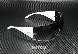 Versace VE2054 10008G Silver Grey Gradient Lens Women's Square Sunglasses 41mm