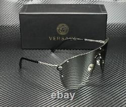 Versace VE2180 10006G Silver Women's Pilot Metal Sunglasses 125
