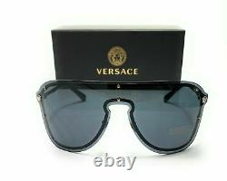 Versace VE2180 100087 Silver Women's Pilot Metal Sunglasses 125
