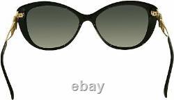 Versace VE4295 GB1/T3 Sunglasses BLACK with POLAR GREY GRADIENT Lens 57mm