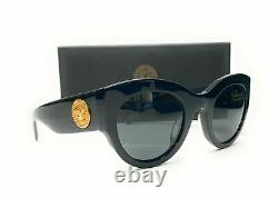 Versace VE4353A GB1 87 Black Grey Women's Sunglasses 51mm