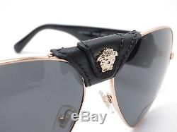 Versace VE 2150Q 1002/87 Gold withGrey Sunglasses
