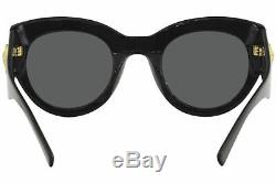 Versace Women's VE4353 VE/4353 GB1/87 Black Fashion Square Sunglasses 51mm