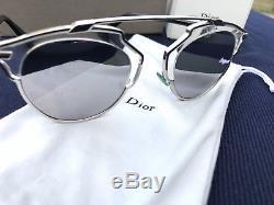 100% Authentiques Lunettes De Soleil Dior So Real Mirror, 48mm. Détail 495 $