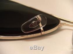 100% Garanti Authentique Ray Ban Aviator Rb3025 L0205 Lunettes De Soleil Vert 58mm