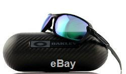 600 $ Nouveau Authentique Oakley Carbone Shift Noir Jade Iridium Lunettes De Soleil Oo 9302-07