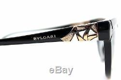 700 $ Polarized Véritable Bvlgari Divas Rêve Lunettes De Soleil Cat-eye Bv 8156b 501 T3