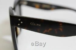 Affichage Tablette Celine Dark Havana 51-26-145 Lunettes De Soleil Gratuit S / H