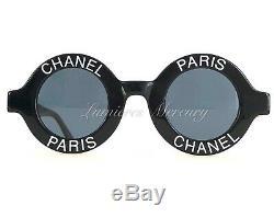 Auth Iconic Vtg Chanel Paris Round Lunettes De Soleil Stock Mort 01945 94305