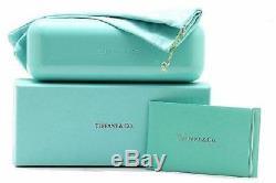 Authentic Tiffany & Co. 0tf4122 82153b Marron Havana Spotted Opal Bleu Lunettes De Soleil