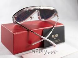 Authentique Fendi Ff M 0039 / G / S 0f74 / R3 Violet Blmkor Lunettes