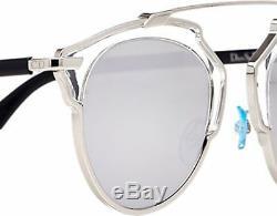 Authentique Nouvelle Lunettes De Soleil Christian Dior So Real Transparent Frame Silver Lens
