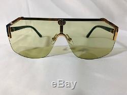Authentique Nouvelle Lunettes De Soleil Gucci Gg1830s Gold Frame Green Lens