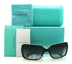 Authentique Tiffany & Co. Victoria Lunettes De Soleil Rectangulaires Tf 4047b 80553c Neuf