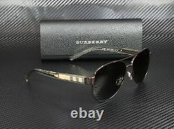 Burberry Be3084 1212t5 Br Brown Polarized Brown Gradient 57mm Lunettes De Soleil Pour Femmes